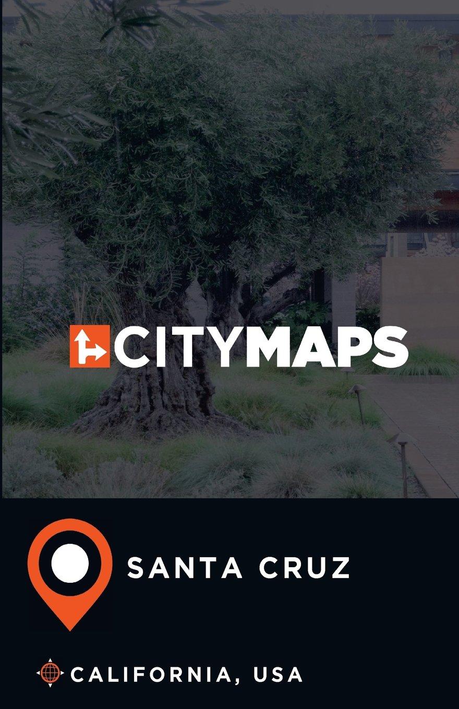 City Maps Santa Cruz California, USA