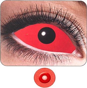 Lentes de Contacto colores ojo rojo completo PS 11261 semestrali ...