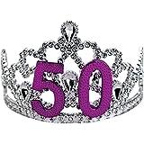 BigMouth Inc 50th Birthday Silver Tiara