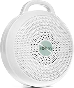 Marpac Rohm Portable Noise Machine for Travel, White