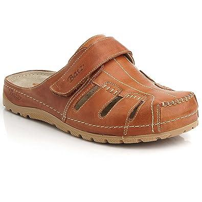 Batz KZ Hochwertigem Komfortschuhe Lederschuhe Pantolette Sandalette Herren