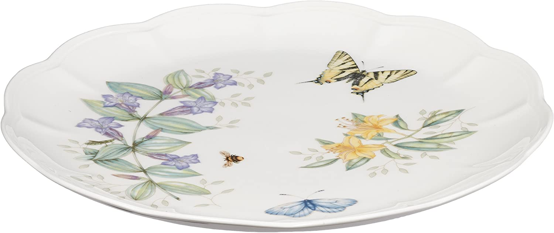 Lenox Butterfly Meadow Tiger Swallow Tail Dinner Plate