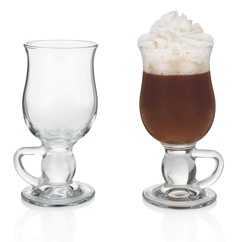 ''Irish Whiskey Museum'' True Irish Coffee Glass (Gift Box Set of 2)