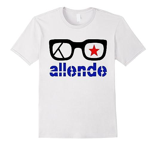 Mens Salvador Allende T-Shirt Marxism Socialism Communism Tee 2XL White
