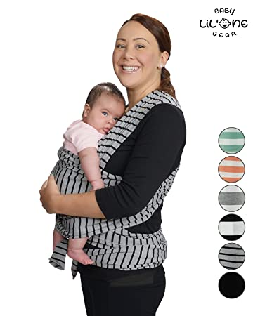 Amazon Com Baby Wrap Sling Infant Carrier Nursing Cover Soft