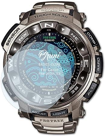 Bruni Protecteur d'écran pour Casio PRW 2500T 7ER Film  cKB5X