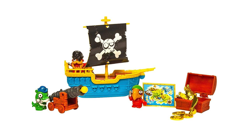 Zomlings Blíster Pirata Barco Color Azul Magic Box INT Toys P00993: Amazon.es: Juguetes y juegos