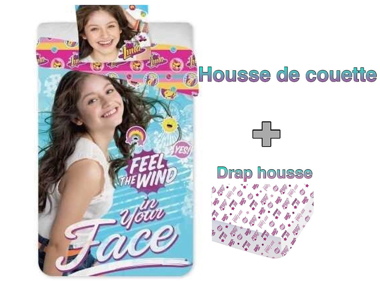Disney Soy Luna - Conjunto de ropa de cama de 3 piezas, con ...