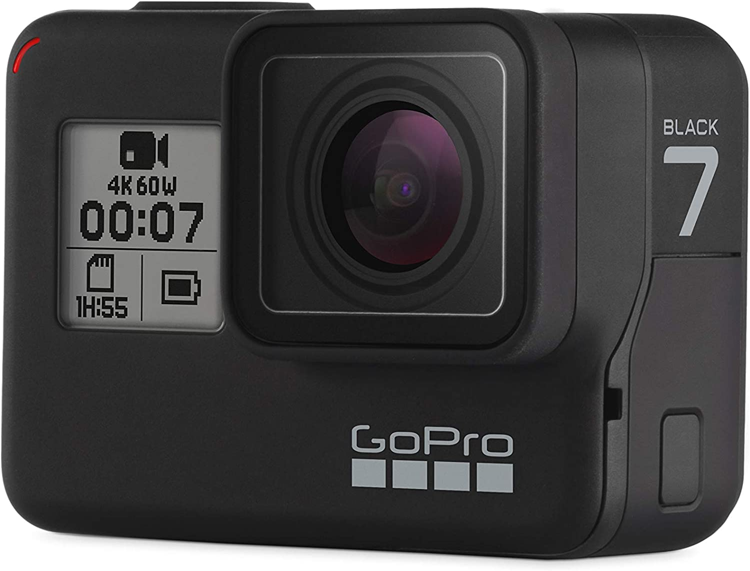 Amazon Com Gopro Hero7 Black Waterproof Action Camera With Touch Screen 4k Ultra Hd Video 12mp Photos 720p Live Streaming Stabilization Camera Photo