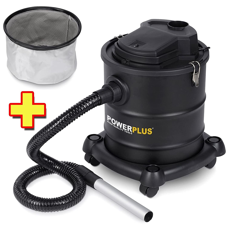 Aspiradora de cenizas 1200 W, 20 litros POWX308 + filtro: Amazon ...
