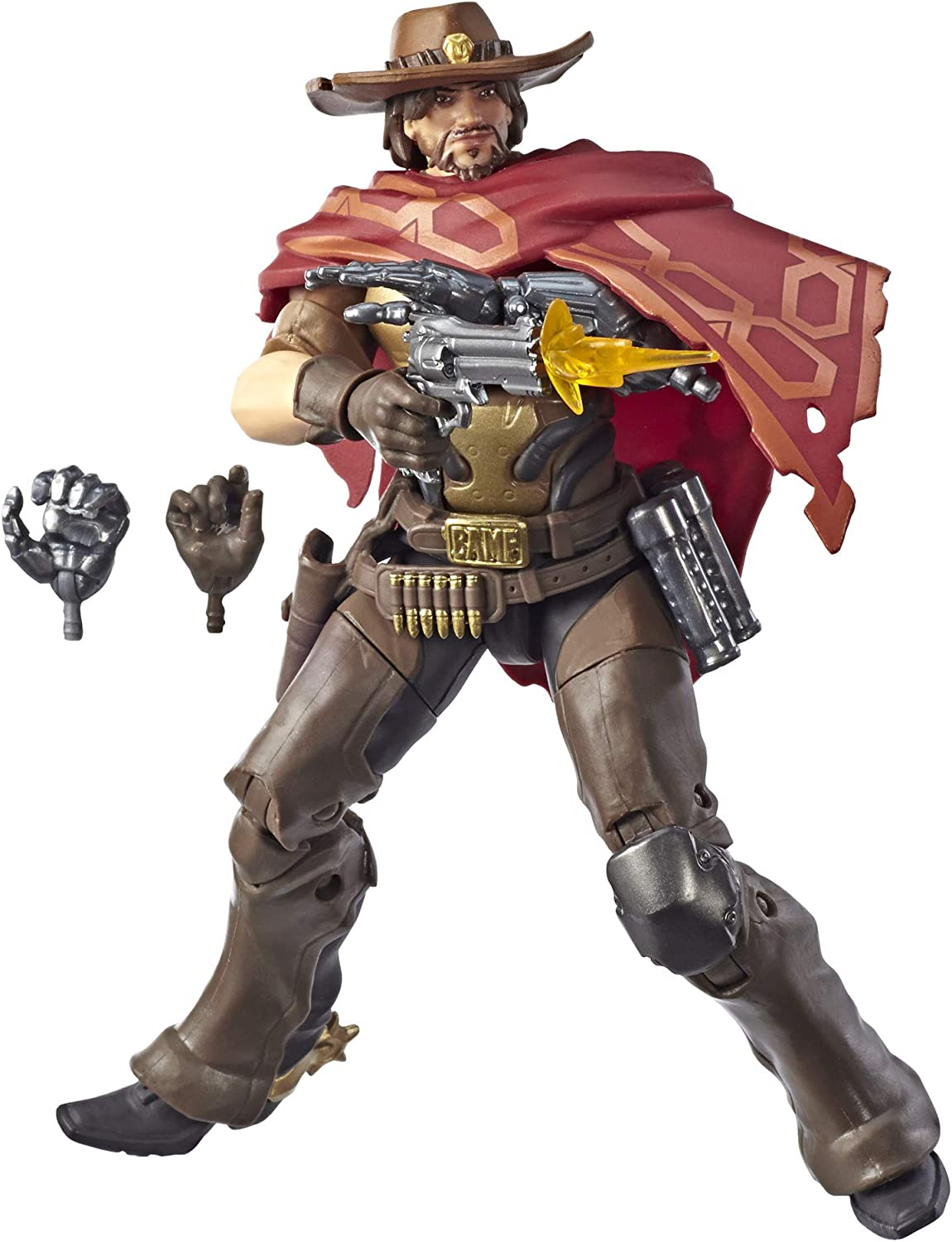Overwatch - Ultimates Mccree (Hasbro E6491ES0): Amazon.es ...