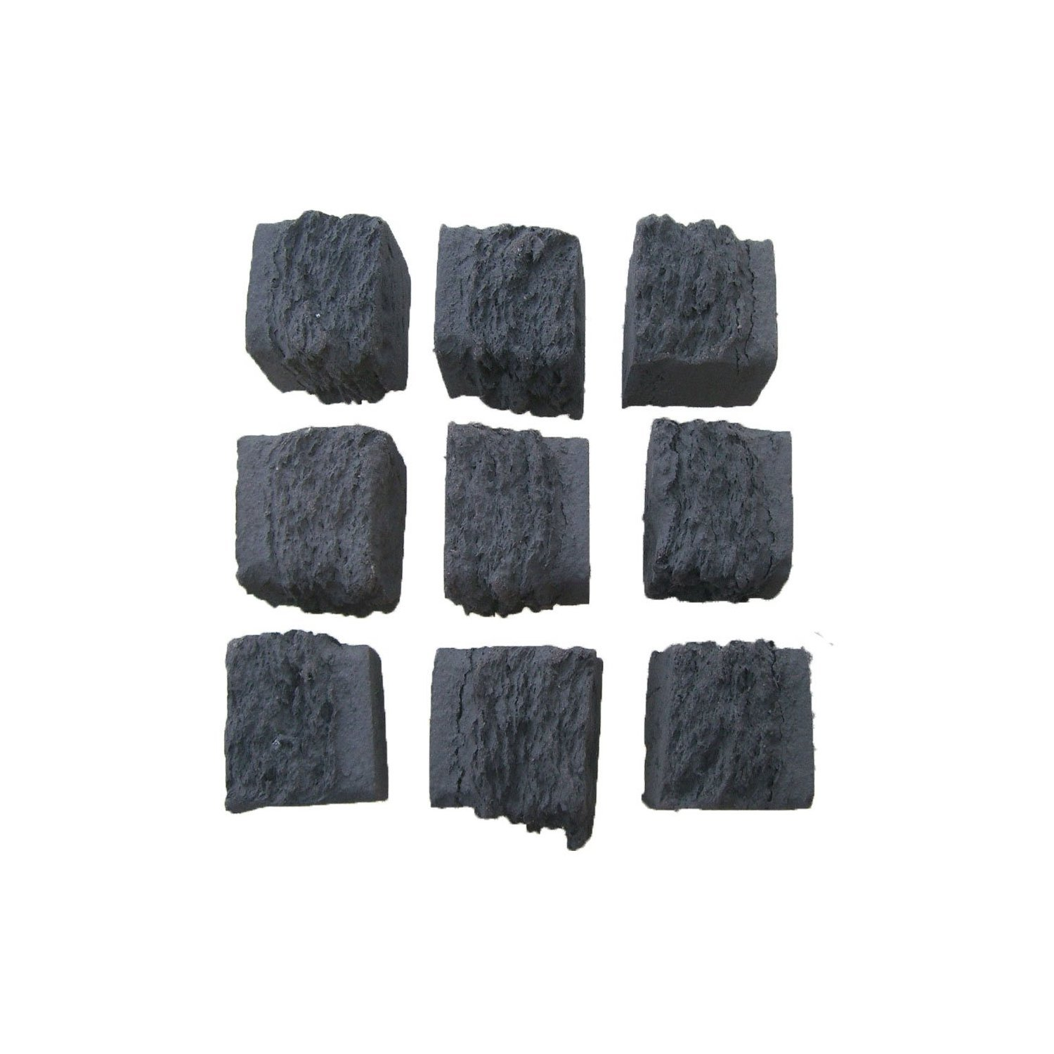 10 LARGE GAS FIRE REPLACEMENT CERAMIC COALS COALS 4 YOU