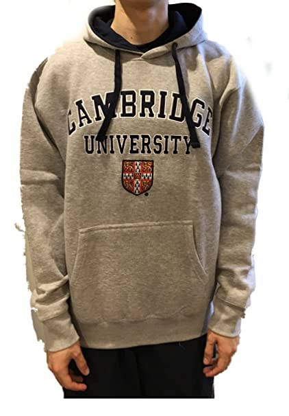 Amazon.com: Official Cambridge University Hoody - Grey - Official Apparel of the Famous Univeristy of Cambridge: Clothing