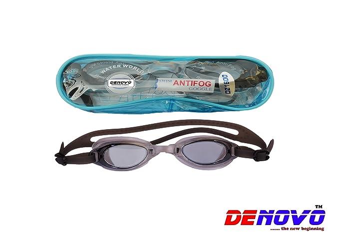DeNovo Imported Swimming Goggle  Black  Goggles
