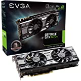 EVGA GeForce GTX 1070 Ti SC GAMING ACX 3.0 Black Edition, 8GB GDDR5, EVGA OCX Scanner OC, White LED, DX12OSD Support (PXOC) Carte Graphique 08G-P4-5671-KR