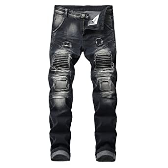 Faddish 2018 Mens Winter Jeans Hip hop Rock Designer Clothes ...