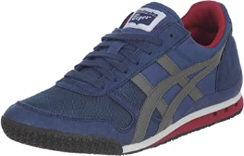 the latest e8601 cf30f Onitsuka Tiger Ultimate 81 Unisex Trainers Blue Size  8.5