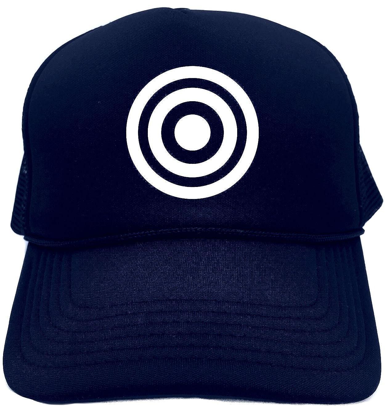 69aefdf573f42 Amazon.com  Funny Trucker Hat (BULLS EYE (TARGET IMAGE) Unisex Adult Foam  Retro Cap  Clothing