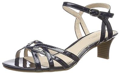 günstig auf Füßen Bilder von großartige Qualität ESPRIT Women's Birkin Ankle Strap Sandals: Amazon.co.uk ...