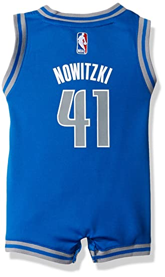 official photos 3b00a 4b567 NBA Infant Dallas Mavericks Dirk Nowitzki Onesie Road Jersey ...