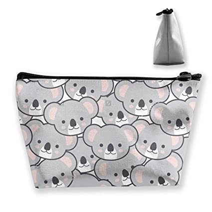Amazon.com: TFVU-OW Cute Koala Faces Cosmetic Bags Travel ...