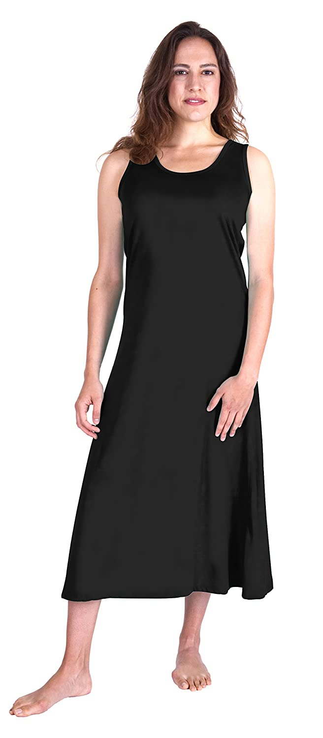 992c6eb967 Cool-jams Moisture Wicking Long Tank Nightgown(S-3X) at Amazon Women s  Clothing store