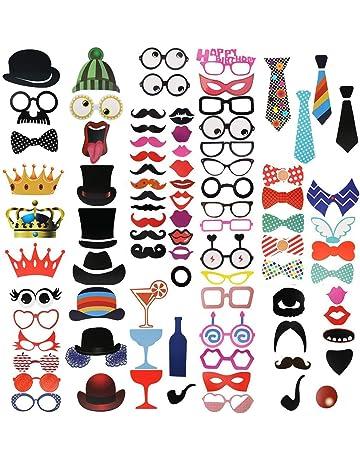 Gorros y máscaras y accesorios para fiestas | Amazon.es