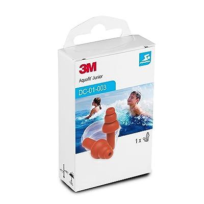 3M E-A-R Aquafit LG3Junior Bouchons pour enfants réutilisables spéciales pour la piscine, natation et Sports Nautique