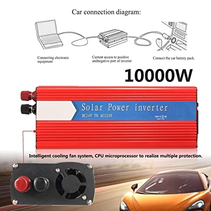 450W Car Power Inverter Converter DC 12V to AC220V Modified Sine Wave Intelligent Temperature Control USB Charger Loldis Audio & Video Accessories