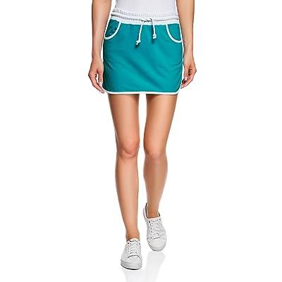 oodji Ultra Women's Jersey Skirt with Elastic Waistband: Clothing