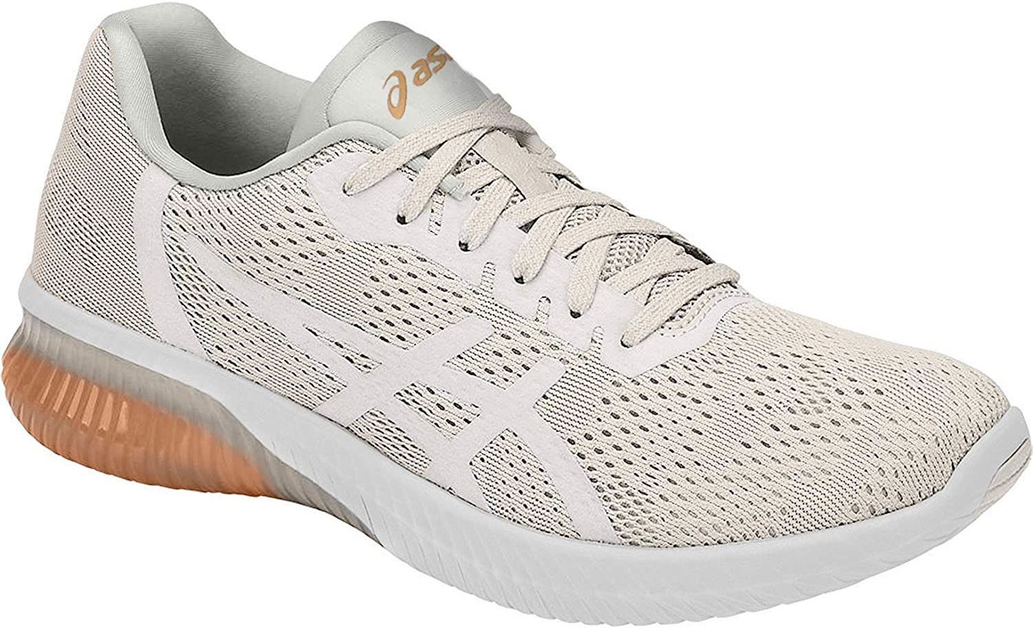 ASICS T888N Womens Gel-Kenun MX Running Shoe, White/White/Apricot Ice - 12: Amazon.es: Zapatos y complementos