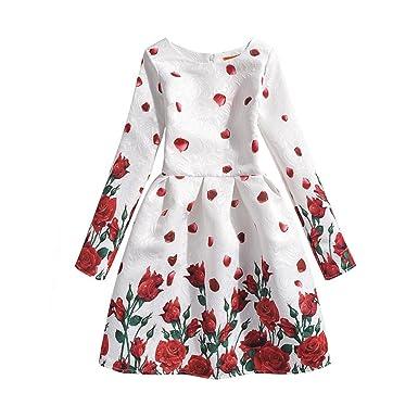 TAIYCYXGAN Taiycyxgan Mädchen Kleid Kinder Niedlich Schmetterling ...