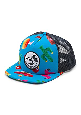 4530ad52f50 Image Unavailable. Image not available for. Color  Vans MENS SURF PATCH  TRUCKER HAT ...