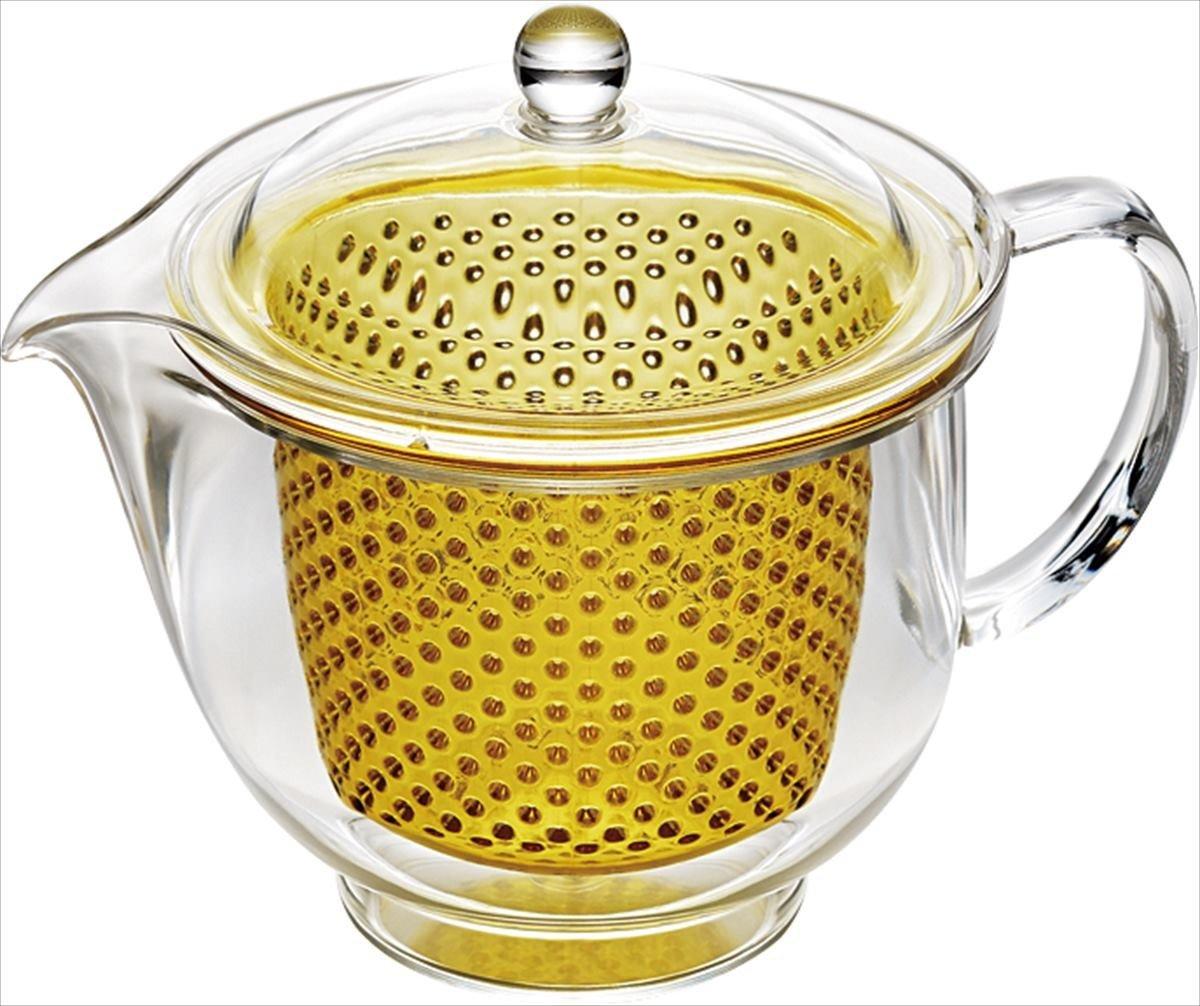 Akebono Kakusee Clear Tea Pot L 480ml Tw 3719 Yellow From Japan Akebonno Coffee Maker Kitchen Home