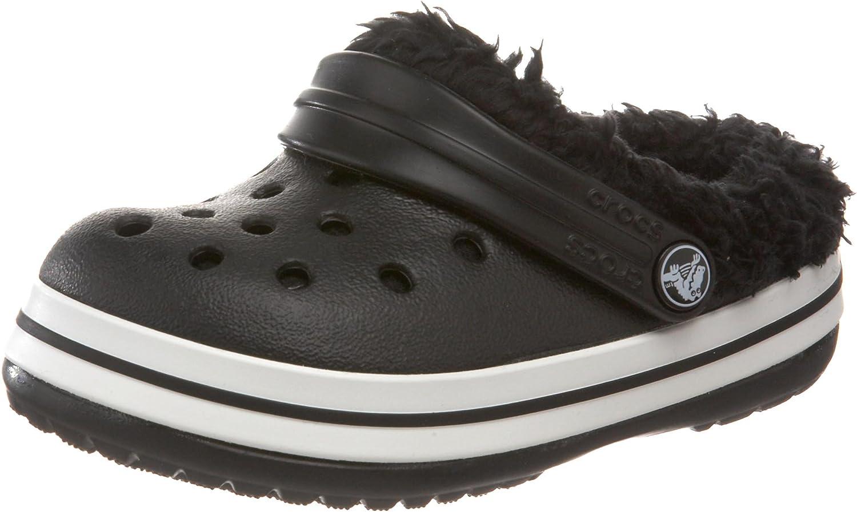 Black Schwarz EU 29-31, US C12//C13 Unisex crocs 11128-060-125 Crocband Mammoth Kids Kinder Clogs /& Pantoletten
