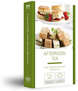 attività Superstore Afternoon Tea for Two Gift Esperienza – Godetevi Un Delizioso Treat Nationwide Disponibile in Oltre 150 Città, Afternoon Tea for Two 2018