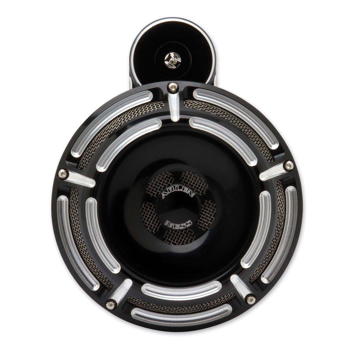 Arlen Ness 70-209 Chrome Billet Horn Kit (Slot/Track) by Arlen Ness