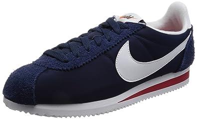40944a2d0fbe Nike Cortez Nylon Prem, Sneakers Basses Homme, Bleu, Bleu (Midnight Navy/