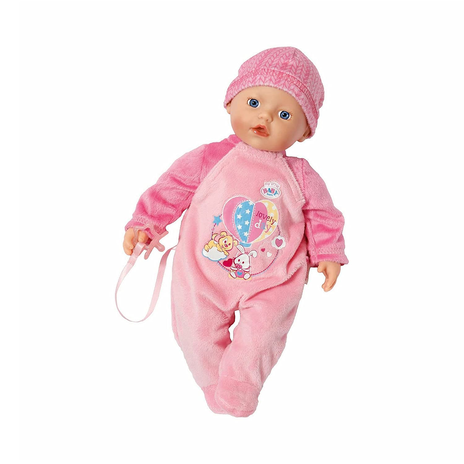 Zapf Creation 822524 My Little Baby Born, Supersoft, rosa