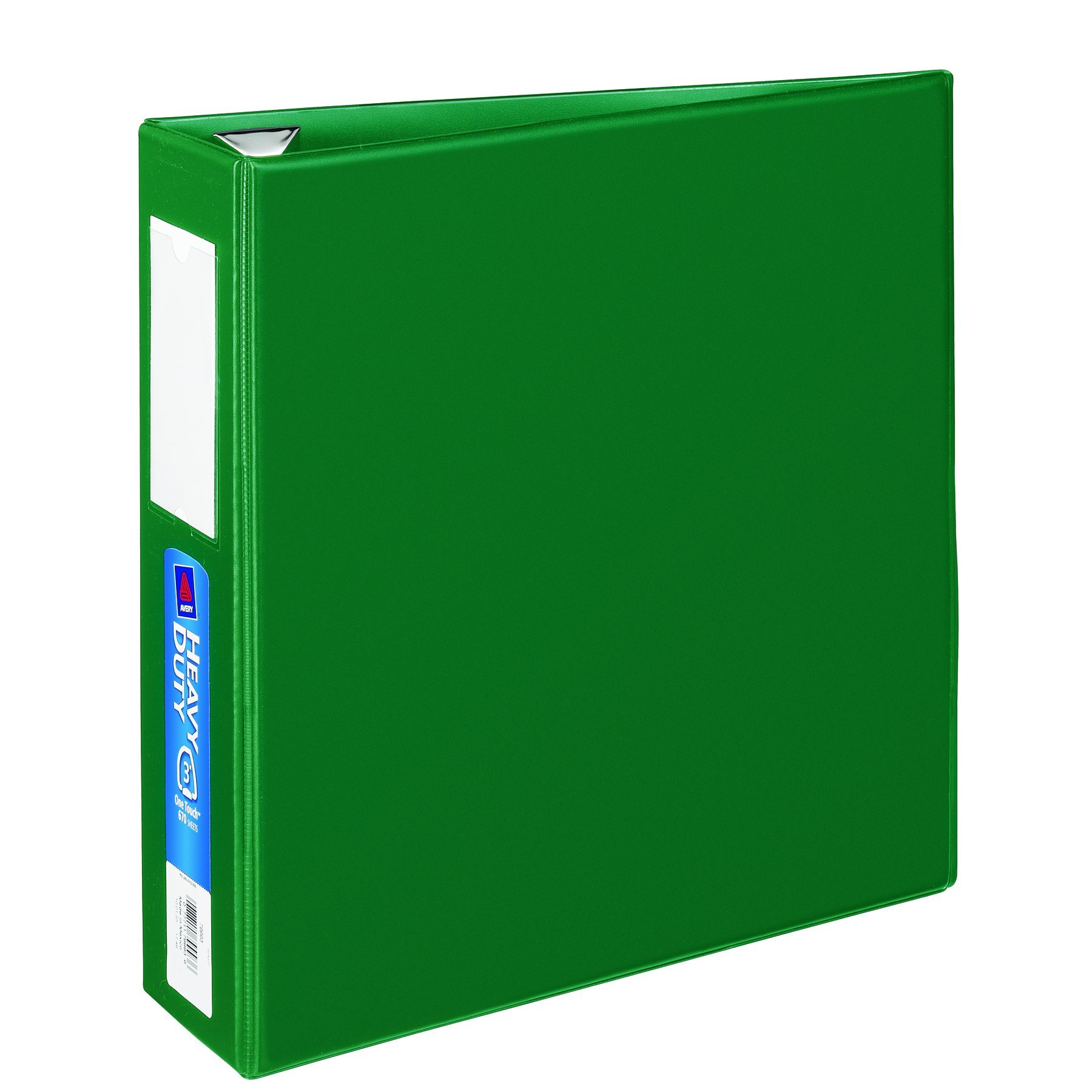 galleon avery heavy duty binder with 3 inch one touch ezd ring