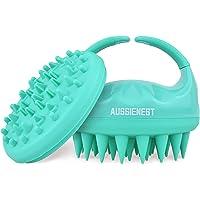 Aussienest Hair Scalp Massager Shampoo Brush Shower Scrubber, Soft Silicone Bristles For hair wash with Body Brush…