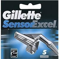 Gillette Sensor Excel Comfort Blades, 5 Count