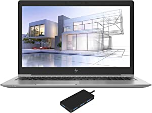 HP ZBOOK 15U G5 Workstation Laptop (Intel i7-8650U 4-Core, 16GB RAM, 2TB PCIe SSD, Intel UHD 620, 15.6
