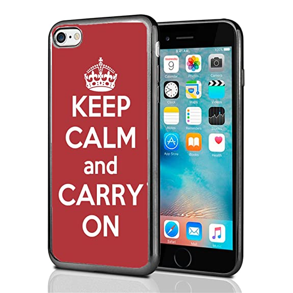 custodia iphone 7 keep calm