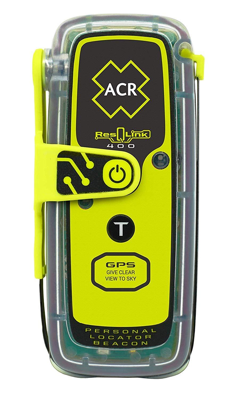 ACR ResQLink 400 Programmed Canadian Registration Buoyant GPS Personal Locator Beacon