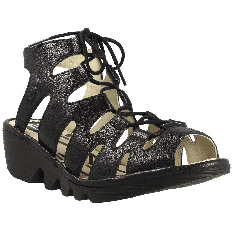 TALLA 41 EU. Fly London Port813fly, Zapatos de tacón con Punta Abierta para Mujer