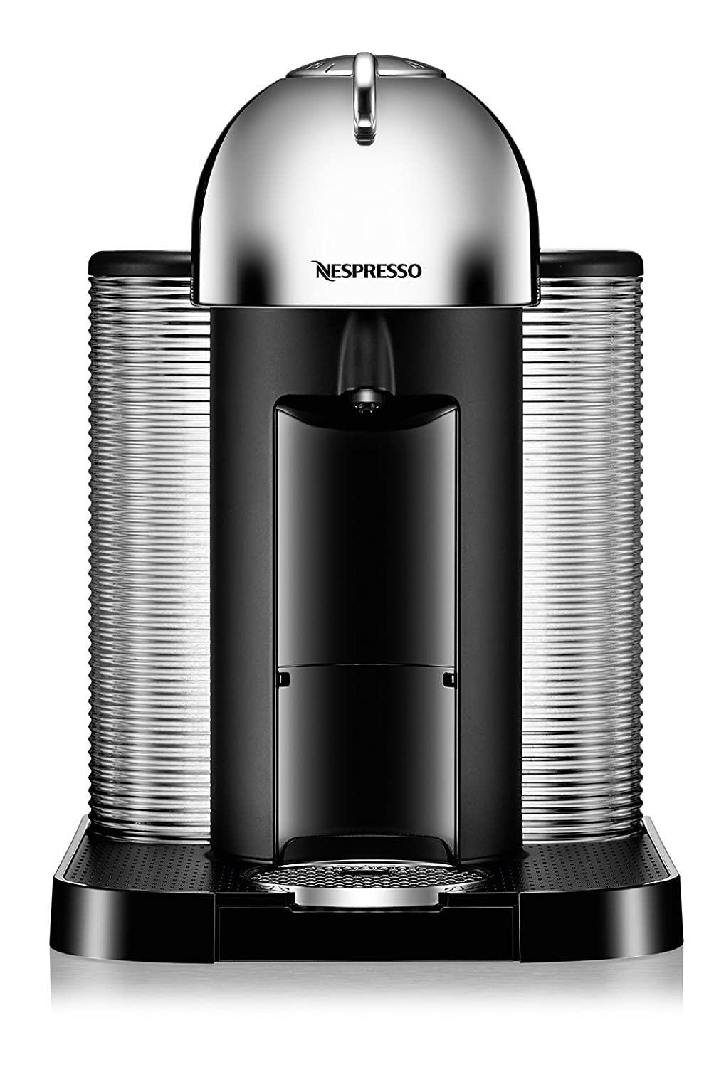 Breville-Nespresso USA BNV250CRO1BUC1 Vertuo Coffee and Espresso Machine, Bundle – Chrome