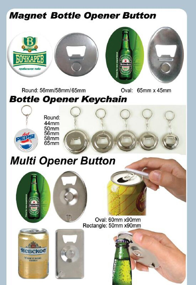 Rubber Magnetic 1'' 25mm 100sets Badge Button Parts Maker Freezer Sticker DIY
