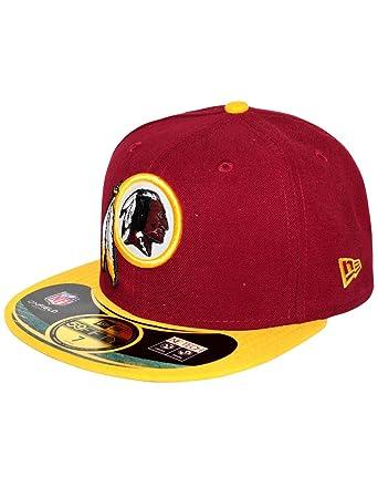Amazon.com  New Era 59Fifty NFL Washington Redskins Cap  Clothing 682121b97ab5