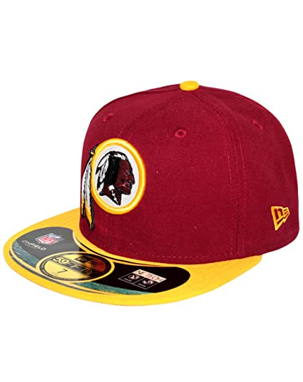 b84cc22a3 Amazon.com  New Era 59Fifty NFL Washington Redskins Cap  Clothing
